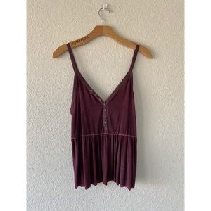 American Eagle Purple Tank
